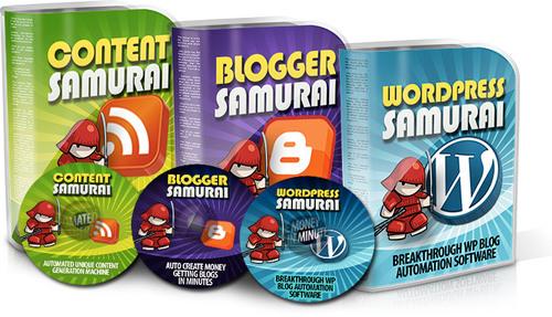 Product picture Autoblog Samurai Pro Auto Income